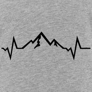 Mountain - Heartbeat Kids' Shirts - Toddler Premium T-Shirt