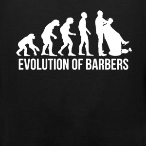 Barber - Evolution of barbers - Men's Premium Tank