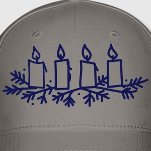 Advent Candles - Baseball Cap