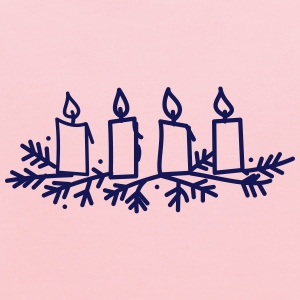 Advent Candles - Kids' Hoodie
