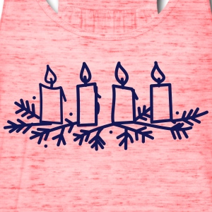 Advent Candles - Women's Flowy Tank Top by Bella