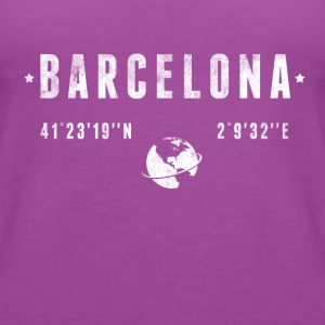 Barcelona Kids' Shirts - Women's Premium Tank Top