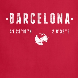 Barcelona T-Shirts - Adjustable Apron