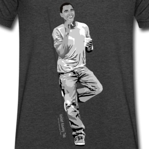 OBAMA: The Casual Citizen Long Sleeve Shirts - Men's V-Neck T-Shirt by Canvas