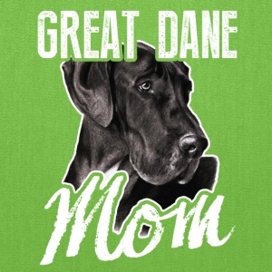 Great Dane Dog Mom Tee Shirt - Tote Bag