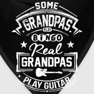 Real Grandpas Play Guitar T-Shirts - Bandana