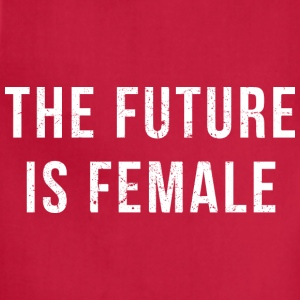 The Future Is Female (white) T-Shirts - Adjustable Apron