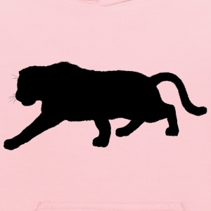 Furry Panther Silhouette Variation 2 - Kids' Hoodie