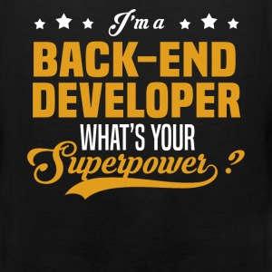 Back-End Developer - Men's Premium Tank