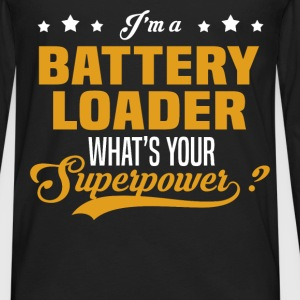 Battery Loader - Men's Premium Long Sleeve T-Shirt