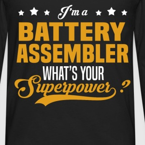 Battery Assembler - Men's Premium Long Sleeve T-Shirt