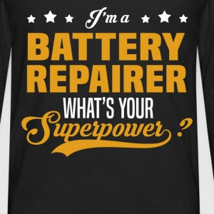 Battery Repairer - Men's Premium Long Sleeve T-Shirt
