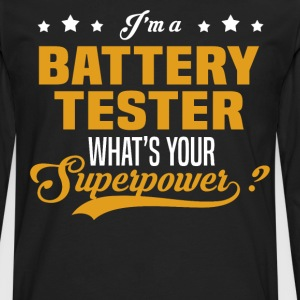 Battery Tester - Men's Premium Long Sleeve T-Shirt