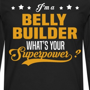 Belly Builder - Men's Premium Long Sleeve T-Shirt