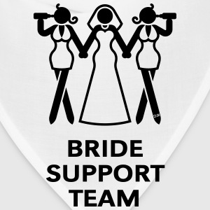 Bride Support Team (Hen Night, Bachelorette Party) T-Shirts - Bandana