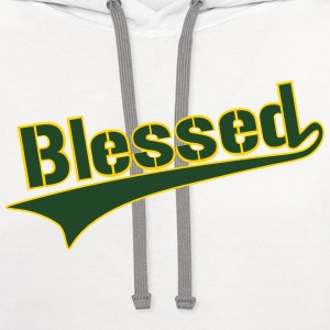 Blessed T-Shirts - Contrast Hoodie