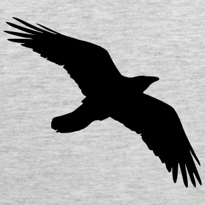 Bird, Crow, Raven T-Shirts - Men's Premium Tank