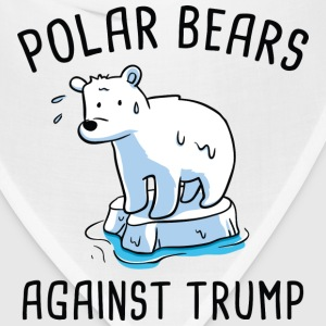 Polar Bears Against Trump - Bandana