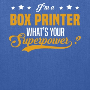 Box Printer - Tote Bag