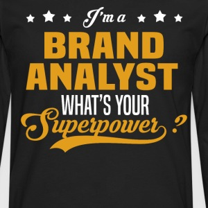 Brand Analyst - Men's Premium Long Sleeve T-Shirt