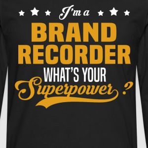 Brand Recorder - Men's Premium Long Sleeve T-Shirt