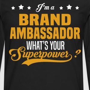 Brand Ambassador - Men's Premium Long Sleeve T-Shirt