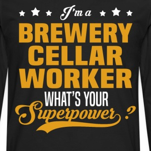 Brewery Cellar Worker - Men's Premium Long Sleeve T-Shirt
