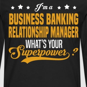 Business Banking Relationship Manager - Men's Premium Long Sleeve T-Shirt