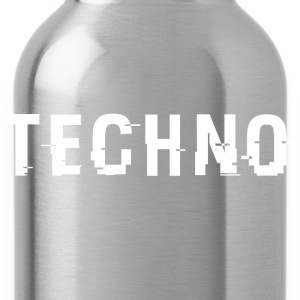 Techo Hacked White - Water Bottle