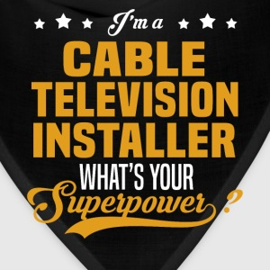 Cable Television Installer - Bandana