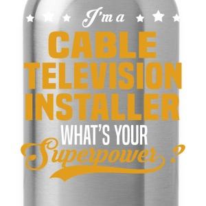 Cable Television Installer - Water Bottle