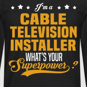 Cable Television Installer - Men's Premium Long Sleeve T-Shirt
