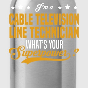 Cable Television Line Technician - Water Bottle