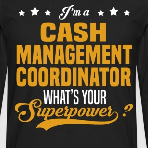 Cash Management Coordinator - Men's Premium Long Sleeve T-Shirt