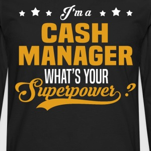 Cash Manager - Men's Premium Long Sleeve T-Shirt