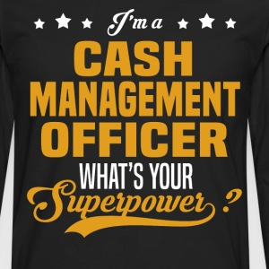 Cash Management Officer - Men's Premium Long Sleeve T-Shirt