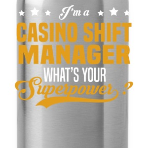 Casino Shift Manager - Water Bottle