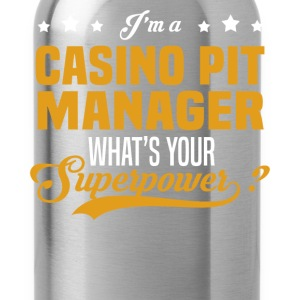 Casino Pit Manager - Water Bottle