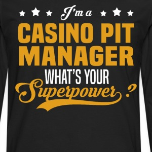 Casino Pit Manager - Men's Premium Long Sleeve T-Shirt