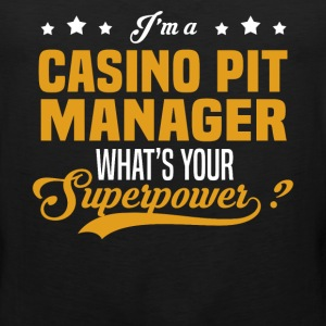 Casino Pit Manager - Men's Premium Tank