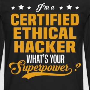 Certified Ethical Hacker - Men's Premium Long Sleeve T-Shirt