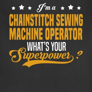 Chainstitch Sewing Machine Operator - Adjustable Apron