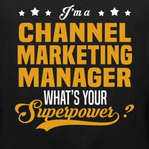 Channel Marketing Manager - Men's Premium Tank