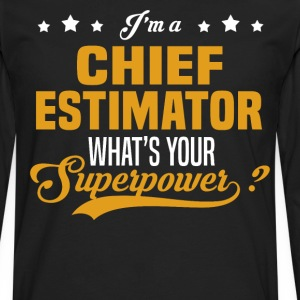 Chief Estimator - Men's Premium Long Sleeve T-Shirt