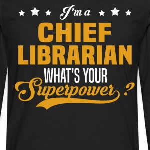 Chief Librarian - Men's Premium Long Sleeve T-Shirt