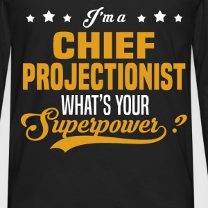 Chief Projectionist - Men's Premium Long Sleeve T-Shirt