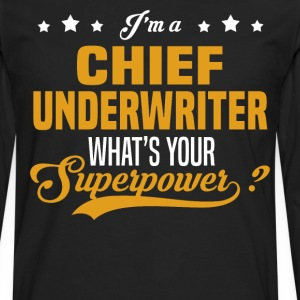 Chief Underwriter - Men's Premium Long Sleeve T-Shirt