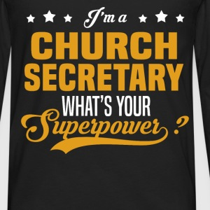 Church Secretary - Men's Premium Long Sleeve T-Shirt