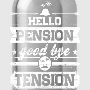 Hello Pension T-Shirts - Water Bottle