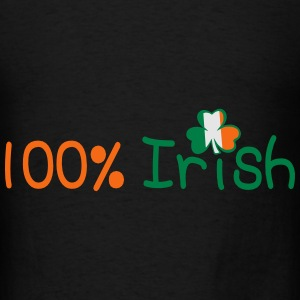 ♥ټ☘I'm 100% Irish-Irish Power Tote Bag☘ټ - Men's T-Shirt